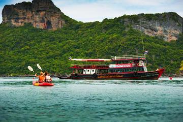 Samui-Inseltour zum Angthong Marine Park im Big Boot mit Kajakfahrt