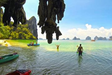 Visita a la isla de Hong en lancha motora desde Krabi con visita...