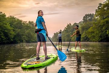 Day Trip Guided Stand-Up Paddleboard Tour in Asheville near Asheville, North Carolina