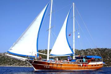 Gullet Cruise Fethiye to Olympos 3 nights