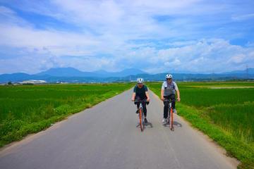 日本の田園地帯を小布施町と温泉まで1日サイクリング