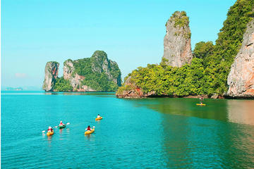 Phang Nga Bay Snorkeling, Kayaking