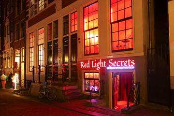 Entrada a Red Light Secrets Museum en Ámsterdam
