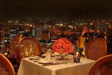 Abendessen im Edifício Itália mit Panoramablick auf São Paulo