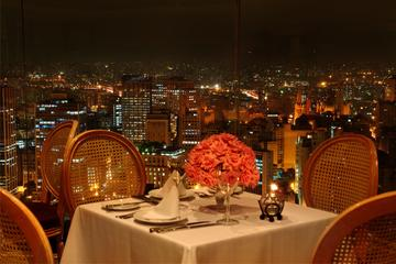 Cena all'Edifício Itália con vista panoramica su São Paulo