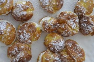 Clase de cocina en París: Éclairs de chocolate y bocaditos de crema