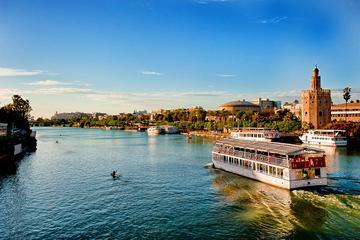 Visite touristique de 2,5 heures et croisière fluviale à Séville