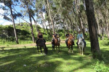 Excursão mística com passeio a cavalo...