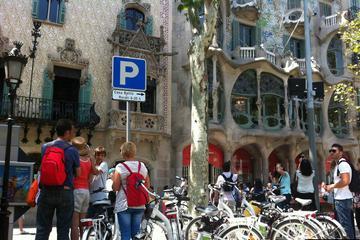 Excursion privée en vélo électrique: 5quartiers de Barcelone