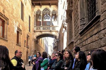 Oude binnenstad en gotische wijk in ...