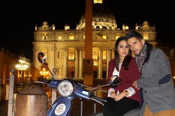 Private Rome by Night Vespa Tour