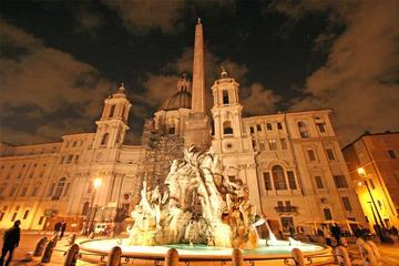 ローマの見どころを巡るウォーキング ツアーとピ…