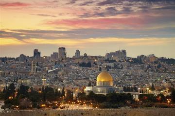 2-Day Jordan from Tel Aviv: Jerusalem, Bethlehem, Petra