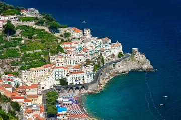 Amalfi Coast and Pompeii Small Group Tour with Lunch