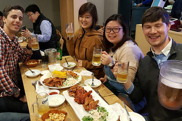 Chicken and Beer Crawl in Seoul