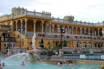 One Day Luxury Tour with Limousine, Champagne and Thermal Spa in Budapest
