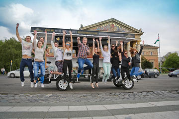 Private Tour in Budapest: Try the famous Hungarian Real Escape Game and a Beerbike Rental