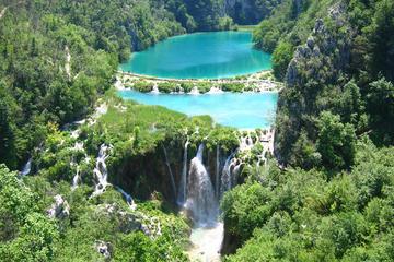 Excursion au parc national des lacs de Plitvice au départ de Split ou...