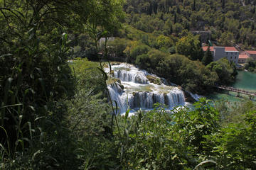 Private Krka Waterfalls and Sibenik