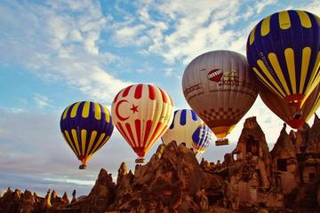 Excursión en globo en la Capadocia...