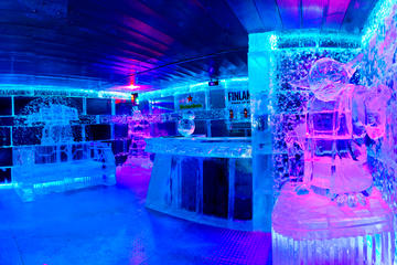 The Ice Bar experience in Barcelona