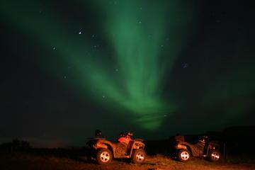 Northern Lights Hunt by ATV from Reykjavik