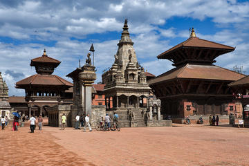 Private Sightseeing Tour of Patan and Bhaktapur