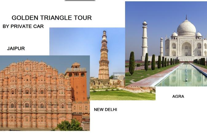 GOLDEN TRIANGLE - DELHI - AGRA-JAIPUR TOUR BY PRIVATE CAR