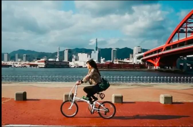 Biking Secret Adventure in Kobe (Beef) with yummy experience