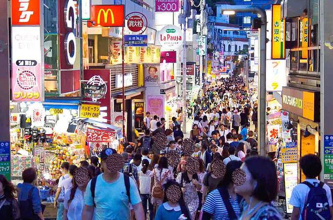 Harajuku Food Tour and sweets