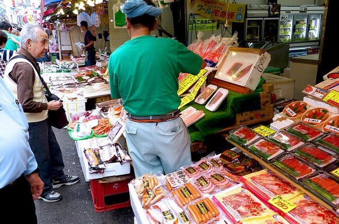 Tokyo Ueno Local Market Food Tour