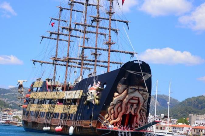 Journey Upon A Pirate Ship Crusie From Marmaris