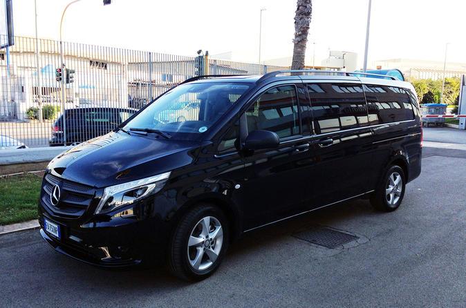 Ciampino or Fiumicino Airport Shared Van Transfer to Rome