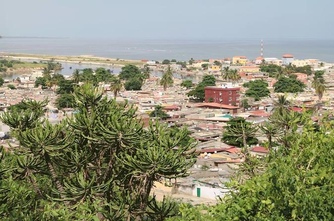 walk to the city of Luanda