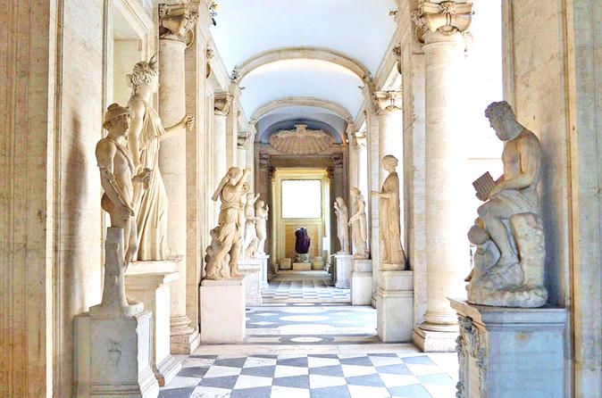 Percy Jackson and Ancient Myths Tour at the Capitoline Museums with Alessandra
