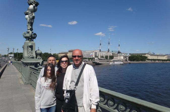 History of the city foundation walking one day tour in Saint Petersburg Russia