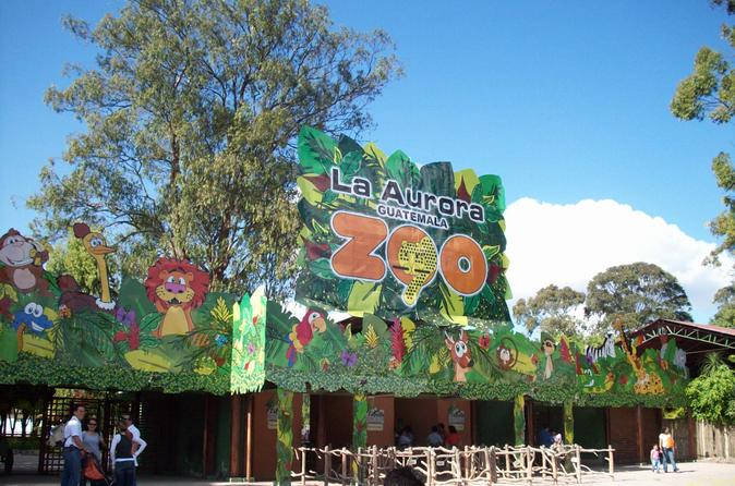 La Aurora Zoo Admission Ticket and Transportation
