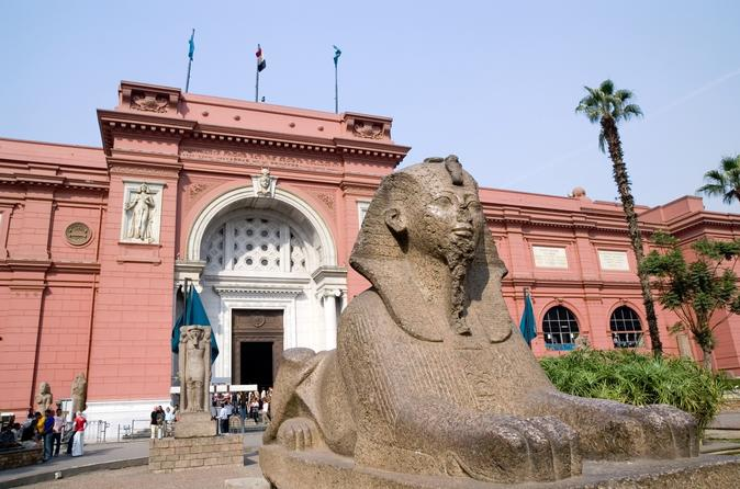Egyptian Museum, Giza Pyramids and Sphinx Day Trip Included Camel Ride and Lunch