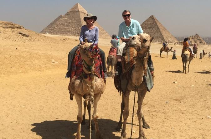 Giza Pyramids and Sphinx Half Day Tour Included Camel Ride From Cairo