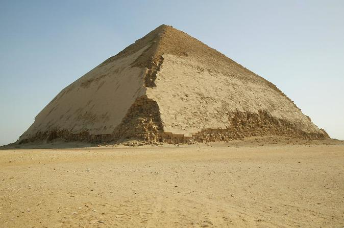 Giza Pyramids, Sakkara, Dahshur Pyramids, and Memphis Full Day Tour