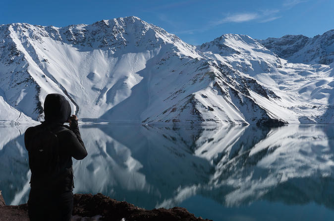Guided Maipo Valley Panoramic Tour - Mountain lagoon