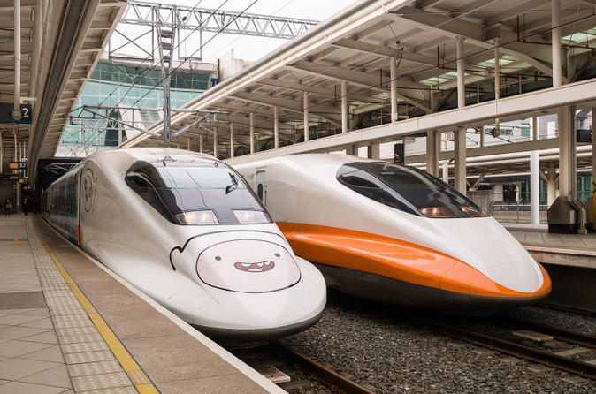Taiwan High Speed Railway Discount E-ticket from Taipei