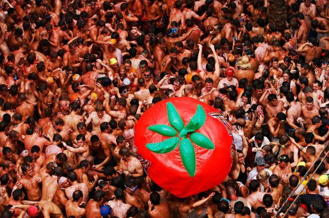 bunol la tomatina festival trip per bus vanuit valencia in valencia 419140
