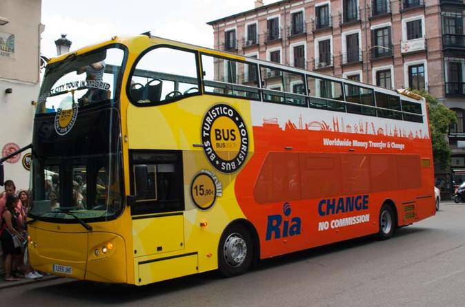 Madrid by Bus Sightseeing Tour
