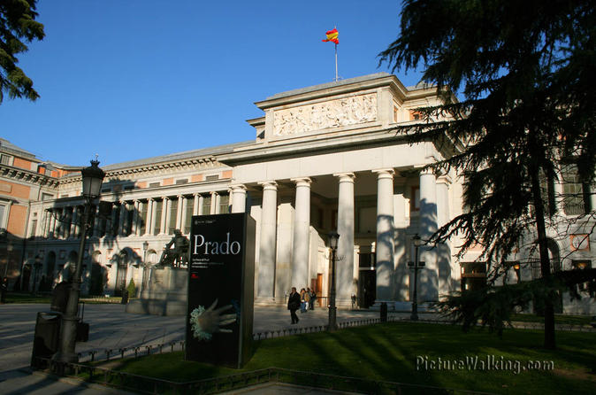 Madrid Sightseeing City Bus Tour with Optional Skip-the-Line Art Museums
