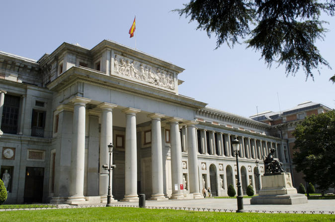 Prado Museum Fast Lane Ticket and Madrid City Guided Walking Tour