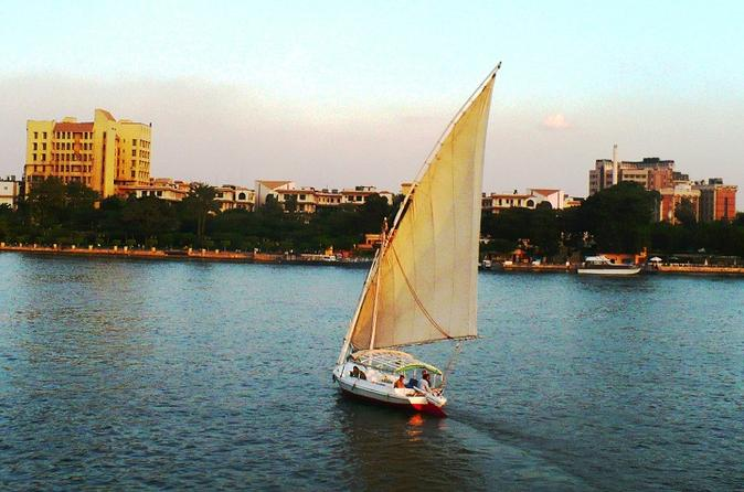 Felucca sailing ride on the nile from giza in giza 201484