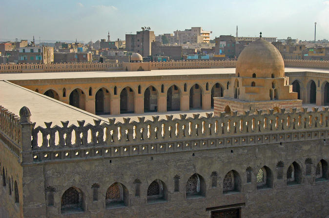 Private Tour to Ibn Tulun Mosque, Gayer-Anderson Museum and Khan El Khalili Bazaar in Cairo
