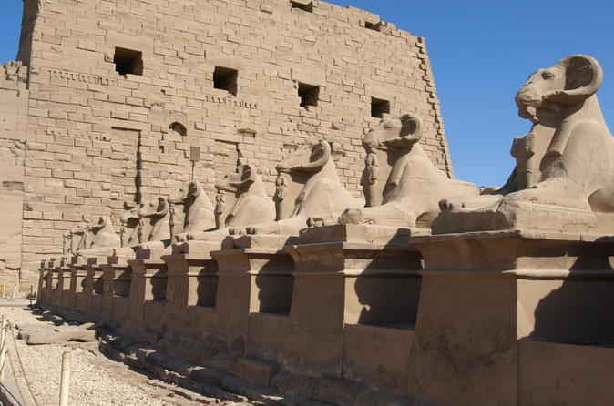 Private Tour to the East Bank of Luxor Karnak and Luxor Temples