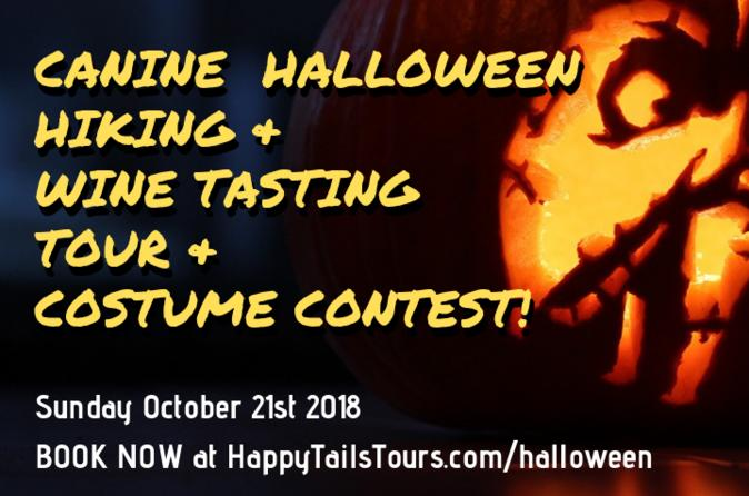 Canine Halloween Hiking & Wine Tasting Tour & Costume Contest!